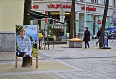 Προεδρικές εκλογές Αυστρία Στοκ εικόνα με δικαίωμα ελεύθερης χρήσης