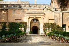 Προεδρική κατοικία στη Μάλτα, Ευρώπη Στοκ φωτογραφία με δικαίωμα ελεύθερης χρήσης
