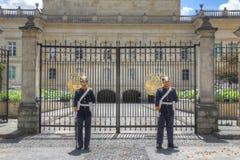 Προεδρική φρουρά Στοκ φωτογραφία με δικαίωμα ελεύθερης χρήσης