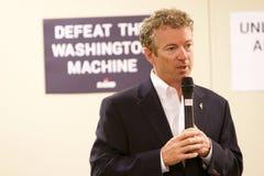 Προεδρικός υποψήφιος γερουσιαστής Rand Paul στοκ εικόνα με δικαίωμα ελεύθερης χρήσης