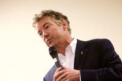 Προεδρικός υποψήφιος γερουσιαστής Rand Paul στοκ φωτογραφίες με δικαίωμα ελεύθερης χρήσης