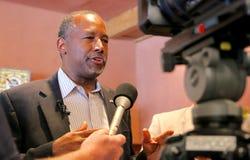 Προεδρικός υποψήφιος Ben Carson στοκ φωτογραφίες
