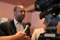 Προεδρικός υποψήφιος Ben Carson στοκ φωτογραφίες με δικαίωμα ελεύθερης χρήσης