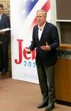 Προεδρικός υποψήφιος Jeb Μπους στοκ εικόνα