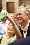 Προεδρικός υποψήφιος Jeb Μπους στοκ φωτογραφίες με δικαίωμα ελεύθερης χρήσης