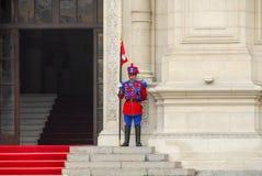 Προεδρικό κυβερνητικό παλάτι, της Λίμα Περού Στοκ Εικόνες