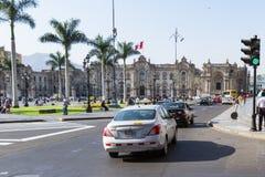 Προεδρικό παλάτι στη Λίμα, Περού Στοκ εικόνες με δικαίωμα ελεύθερης χρήσης