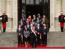 Προεδρικό παλάτι στη Λίμα Στοκ Εικόνα