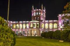 Προεδρικό παλάτι του Lopez Asuncion, κεφάλαιο της Παραγουάης στοκ φωτογραφίες