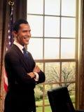 Προεδρικό πρότυπο κηροπλαστικών Obama Barack Στοκ φωτογραφίες με δικαίωμα ελεύθερης χρήσης