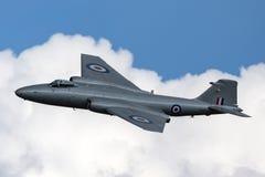 Προηγούμενες αγγλικές ηλεκτρικές Καμπέρρα δημόσιες σχέσεις της Royal Air Force 9 φωτογραφικά αεροσκάφη γ-OMHD αναγνώρισης που χρη Στοκ Εικόνες