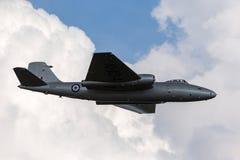 Προηγούμενες αγγλικές ηλεκτρικές Καμπέρρα δημόσιες σχέσεις της Royal Air Force 9 φωτογραφικά αεροσκάφη γ-OMHD αναγνώρισης που χρη Στοκ Εικόνα