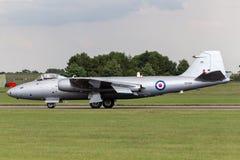 Προηγούμενες αγγλικές ηλεκτρικές Καμπέρρα δημόσιες σχέσεις της Royal Air Force 9 φωτογραφικά αεροσκάφη γ-OMHD αναγνώρισης που χρη Στοκ εικόνες με δικαίωμα ελεύθερης χρήσης