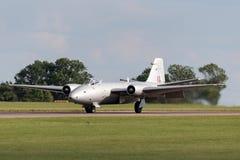 Προηγούμενες αγγλικές ηλεκτρικές Καμπέρρα δημόσιες σχέσεις της Royal Air Force 9 φωτογραφικά αεροσκάφη γ-OMHD αναγνώρισης που χρη Στοκ εικόνα με δικαίωμα ελεύθερης χρήσης