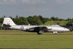 Προηγούμενες αγγλικές ηλεκτρικές Καμπέρρα δημόσιες σχέσεις της Royal Air Force 9 φωτογραφικά αεροσκάφη γ-OMHD αναγνώρισης που χρη Στοκ Φωτογραφία