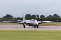 Προηγούμενες αγγλικές ηλεκτρικές Καμπέρρα δημόσιες σχέσεις της Royal Air Force 9 φωτογραφικά αεροσκάφη γ-OMHD αναγνώρισης που χρη Στοκ φωτογραφία με δικαίωμα ελεύθερης χρήσης