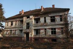 Προηγούμενη σοβιετική στρατιωτική βάση σε Milovice, Δημοκρατία της Τσεχίας Στοκ φωτογραφίες με δικαίωμα ελεύθερης χρήσης