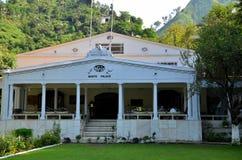 Προηγούμενη Swat κοιλάδα Πακιστάν Marghazar Swat ξενοδοχείων παλατιών βασιλιάδων ` s άσπρη Στοκ Εικόνες