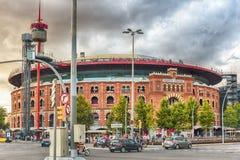 Προηγούμενοι χώροι Placa de toros de las, Βαρκελώνη, Καταλωνία, Ισπανία Στοκ φωτογραφίες με δικαίωμα ελεύθερης χρήσης