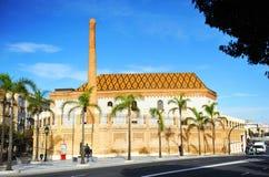 Προηγούμενο εργοστάσιο καπνών, Fabrica de Tabacos, Καντίζ, Ισπανία στοκ εικόνα με δικαίωμα ελεύθερης χρήσης