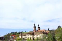 Προηγούμενο Benedictine μοναστήρι, Γερμανία Στοκ εικόνες με δικαίωμα ελεύθερης χρήσης