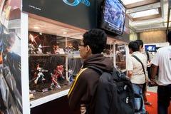 Προθήκη ειδωλίων παιχνιδιών Anime Στοκ Εικόνα