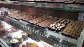 Προθήκη Chocolats Στοκ φωτογραφία με δικαίωμα ελεύθερης χρήσης