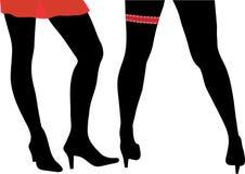 προκλητικά womans ποδιών Στοκ Φωτογραφίες