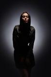 προκλητικές νεολαίες βλαστών μόδας brunette Στοκ φωτογραφίες με δικαίωμα ελεύθερης χρήσης