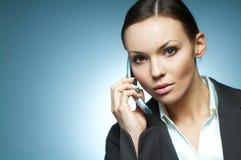προκλητική γυναίκα επιχειρησιακού mg Στοκ Εικόνα