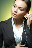 προκλητική γυναίκα επιχ&eps στοκ εικόνες