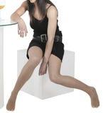 προκλητική γυναίκα ποδιώ&n στοκ φωτογραφία με δικαίωμα ελεύθερης χρήσης