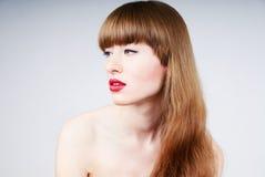προκλητική γυναίκα πορτρέ στοκ εικόνες με δικαίωμα ελεύθερης χρήσης