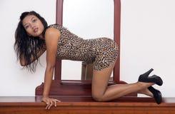 Προκλητική γυναίκα στοκ εικόνες