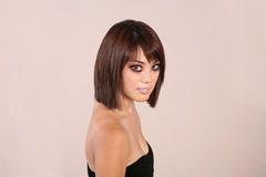 προκλητική γυναίκα brunette 41 στοκ εικόνα με δικαίωμα ελεύθερης χρήσης