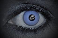προκλητικό βαμπίρ Στοκ φωτογραφίες με δικαίωμα ελεύθερης χρήσης