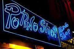 προκλητικό κατάστημα εισόδων Στοκ εικόνα με δικαίωμα ελεύθερης χρήσης