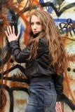 Προκλητικό προκλητικό κορίτσι Στοκ εικόνα με δικαίωμα ελεύθερης χρήσης