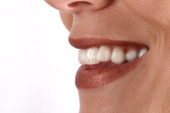 προκλητικό χαμόγελο Στοκ εικόνες με δικαίωμα ελεύθερης χρήσης