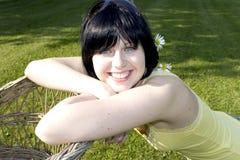 προκλητικό brunette Στοκ εικόνα με δικαίωμα ελεύθερης χρήσης