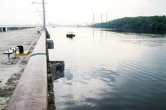 Προκυμαία δασωδών περιοχών Στοκ φωτογραφία με δικαίωμα ελεύθερης χρήσης