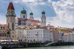 Προκυμαία Δούναβη του Πάσσαου στοκ φωτογραφία με δικαίωμα ελεύθερης χρήσης