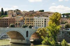 Προκυμαία ποταμών της Ρώμης Tiber Στοκ εικόνες με δικαίωμα ελεύθερης χρήσης