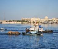 Προκυμαία στην Αλεξάνδρεια, Αίγυπτος Στοκ Εικόνες