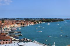 Προκυμαία της Βενετίας Στοκ εικόνες με δικαίωμα ελεύθερης χρήσης