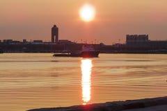 Προκυμαία της Βοστώνης ανατολής Στοκ Εικόνα