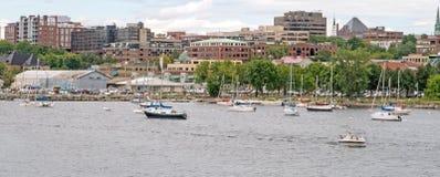 Προκυμαία του Μπέρλινγκτον Στοκ Φωτογραφία