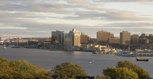 προκυμαία του Χάλιφαξ Στοκ φωτογραφία με δικαίωμα ελεύθερης χρήσης