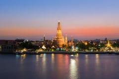 Προκυμαία Prang Wat Arun Phra Στοκ Φωτογραφία