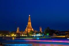 Προκυμαία Prang Wat Arun Phra Στοκ εικόνα με δικαίωμα ελεύθερης χρήσης